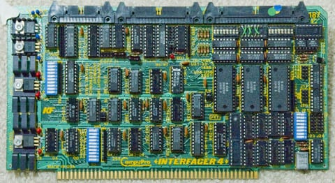 This Old Box - S-100 CompuPro Interfacer 4 card