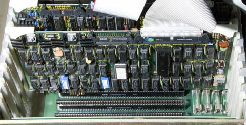This Old Box - S-100 card slots