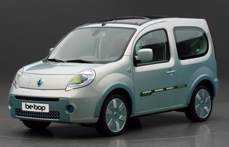 Renault be bop ZE EV Demo