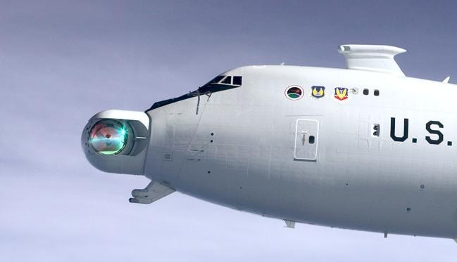 The Airborne Laser nose turret
