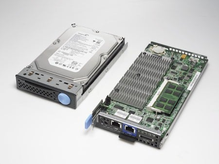 Dell VIA Server Compared to Disk