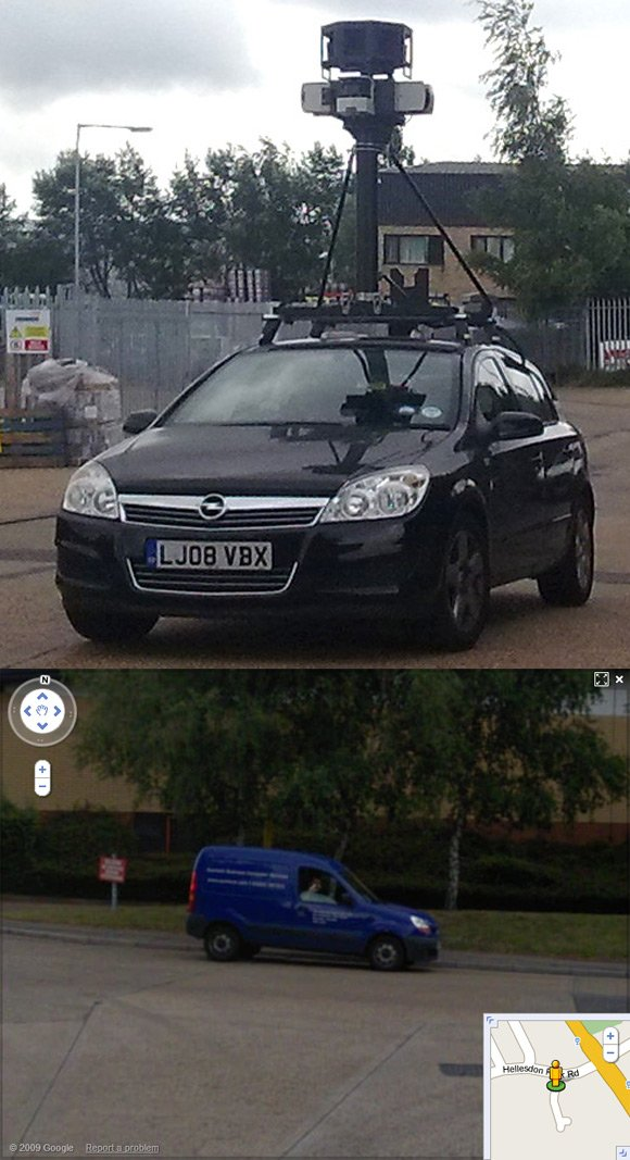Louis Blackburn captured on Street View in Norwich