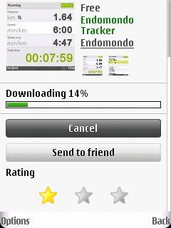 Ovi Downloading