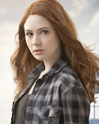 Karen Gillan. Pic: BBC