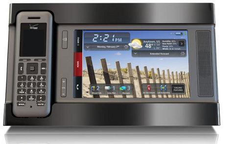 Verizon's Hub Media Phone