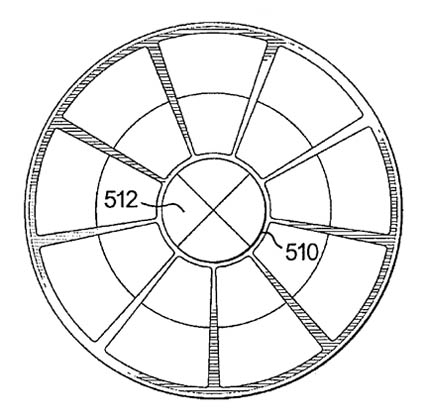 "Apple ""Multi-Dimensional Scroll Wheel"" patent illustration"