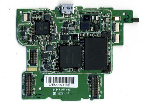 Palm Pre: logic board