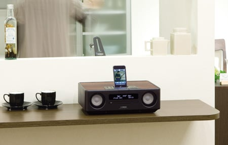 Yamaha TSX-130 iPod dock