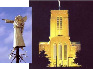 Guildford Cathedral's Angel