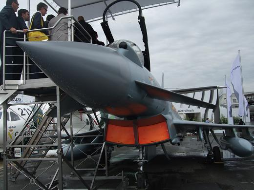 Eurofighter on sale at the Paris Airshow 2009