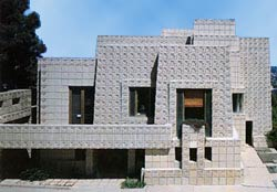 The Ennis House. Pic: The Ennis House Foundation