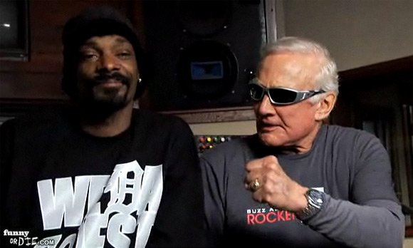 Snoop Dogg and Buzz Aldrin