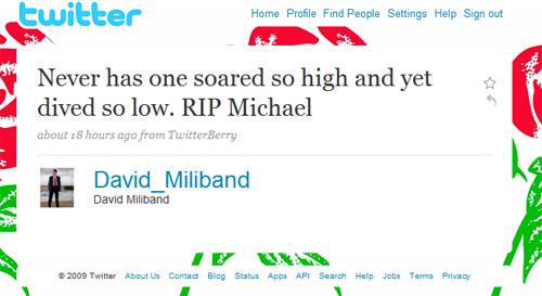 Fake Miliband Tweet