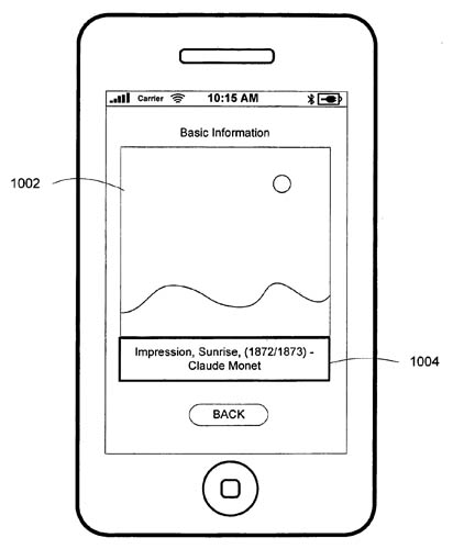 Apple object-recognition patent illustration