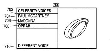 Apple voice-modification patent illustration