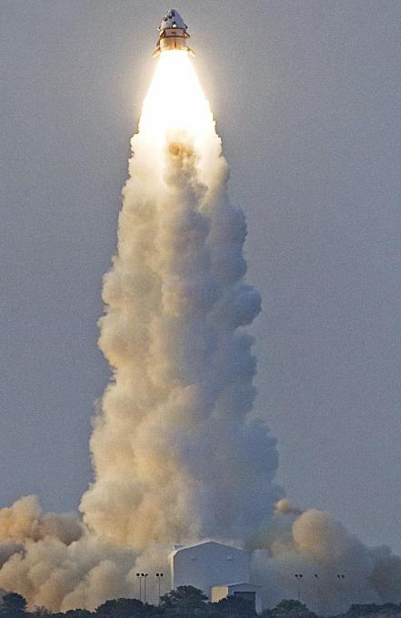 The Max Launch Abort System tested at Wallops Island