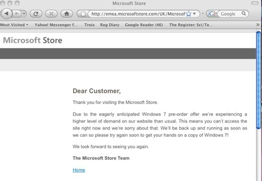 Microsoft store screen grab