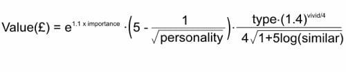 Lewis Memory Formula