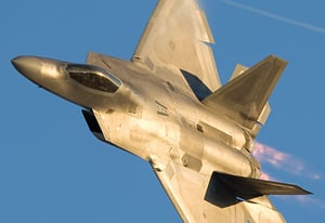 The F-22 Raptor. Pic: Lockheed Mart