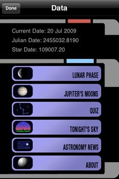 Pocket Universe Virtual Sky Astronomy