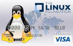 Tux on Visa