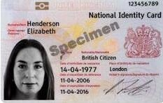 UK Citizens' ID card