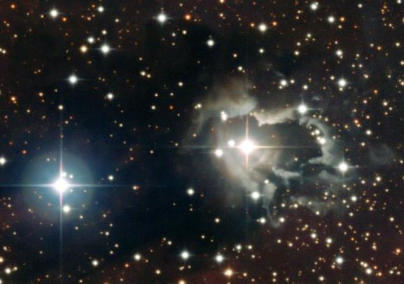 The star HD87643, imaged by the ESO's 2.2-metre telescope at La Silla