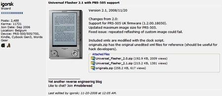 Universal Flasher