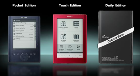 Sony e-book Readers