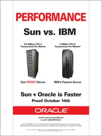 Sun Oracle Sparc Ad