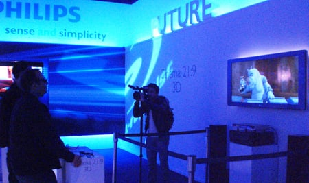 Philips 3D TV prototype