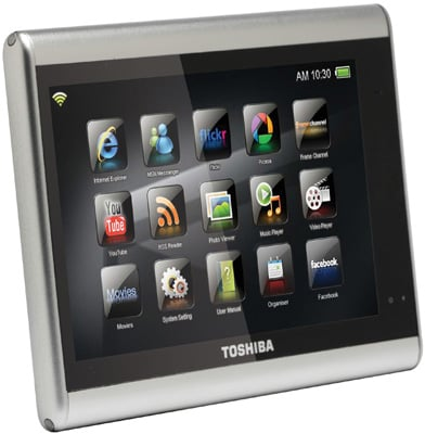 Toshiba JournE tablet