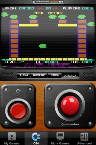 Commodore 64 on iPhone