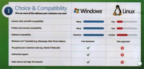 Microsoft Linux pitch