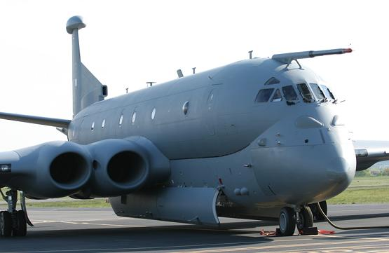The Nimrod MRA4 on the ground. Credit: BAE Systems