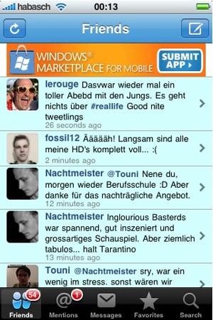 microsoft iphone ad