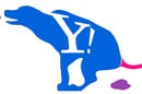 An alternative Yahoo! logo, courtesy of a Flickr user