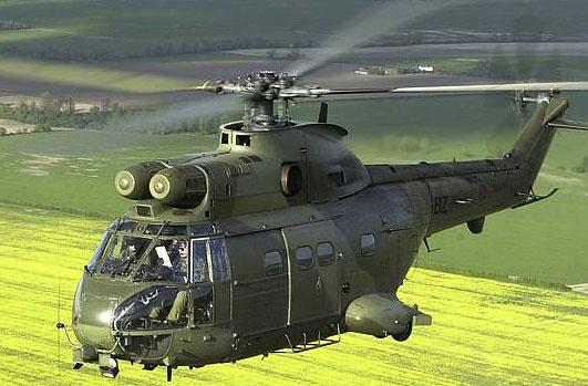 The RAF's Puma helicopter. Credit: MoD