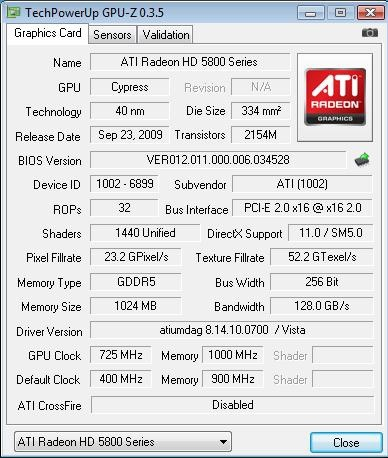 AMD Radeon HD 5850