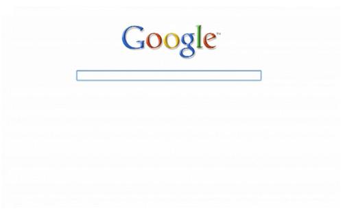 Ultra Minimal Google