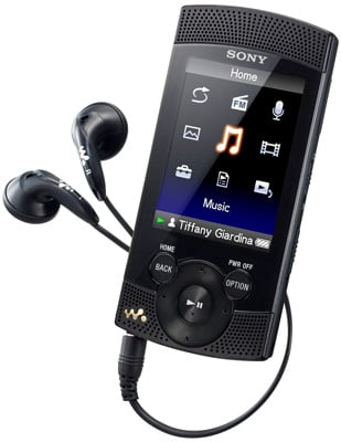 Sony NWZ-S544 8GB Walkman