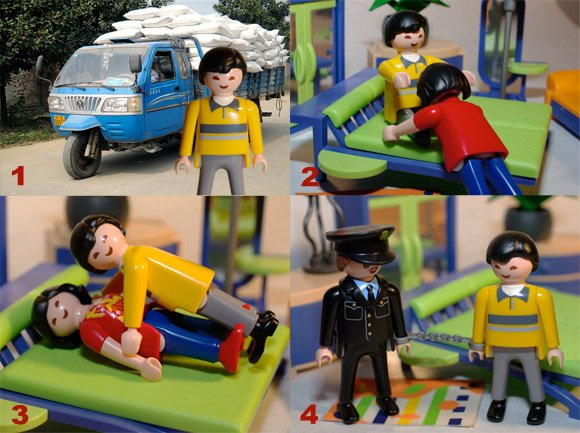 Our four-step Playmobil guide to becoming a Taoist master