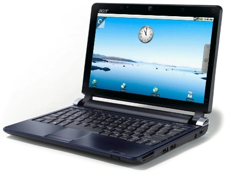 Acer Aspire One D250 with Android