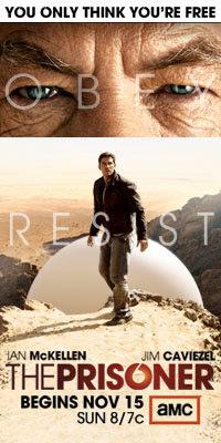 Promotional poster for The Prisoner rehash