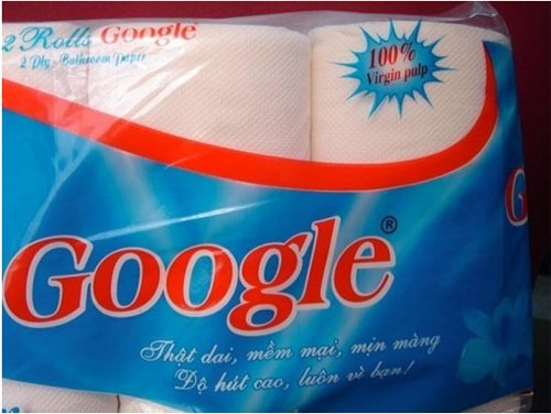 Google Toilet Paper