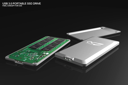 OCZ USB 3.0 SSD concept