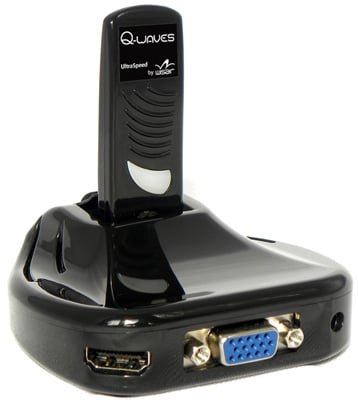 Q-Waves Wireless USB AV Kit
