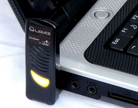Q-Waves Wireless USB AV Kit
