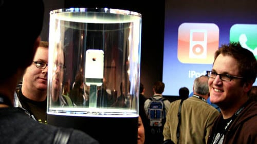 iPhone introduction at Macworld Expo 2007