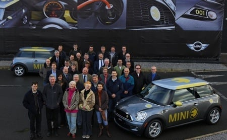 Mini E handover